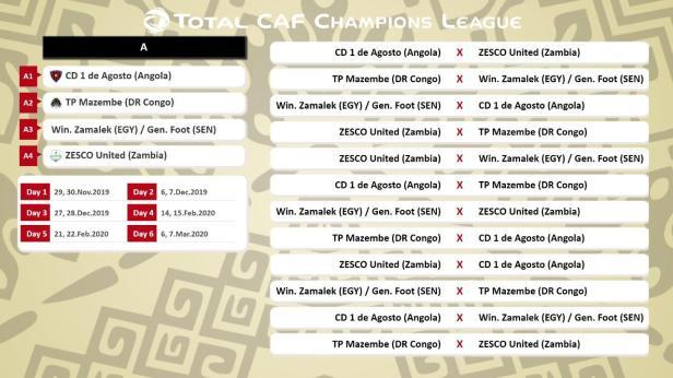 CAFCL 19/20 Group A