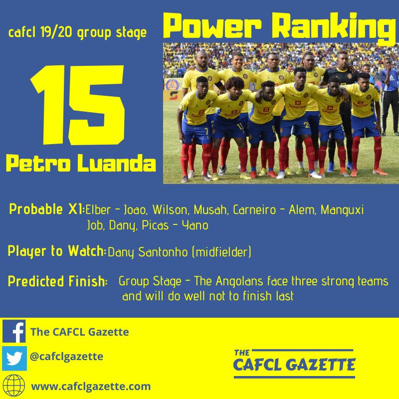 Petro Luanda Profile