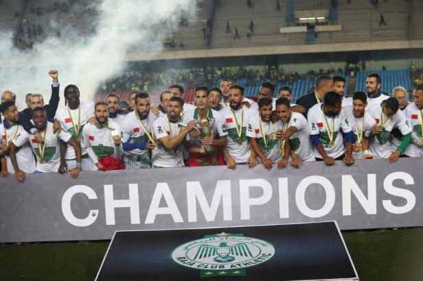 Raja CAF Confederation Cup Winner