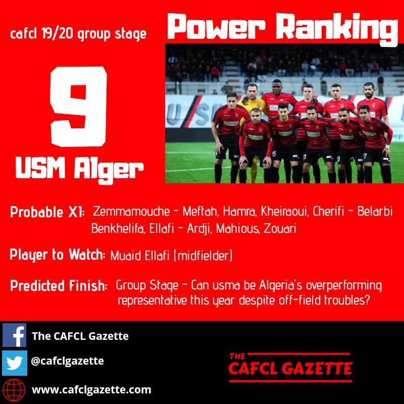 USM Alger Profile