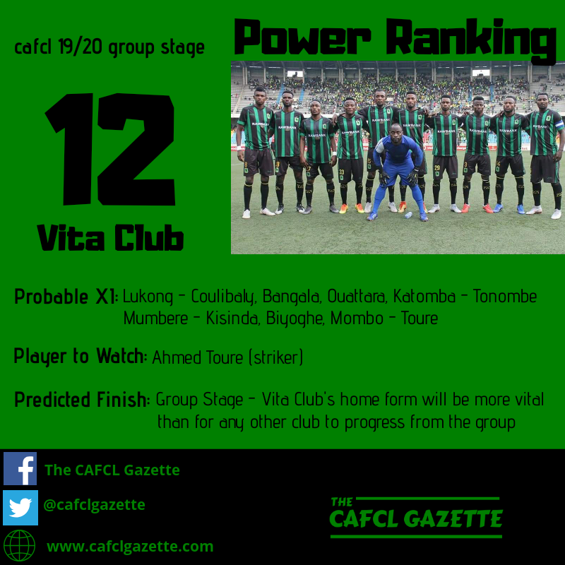 Vita Club Profile