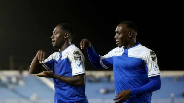 Al Hilal Players Celebrate