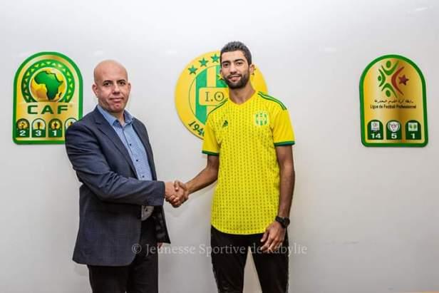 Darragi joins JS Kabylie