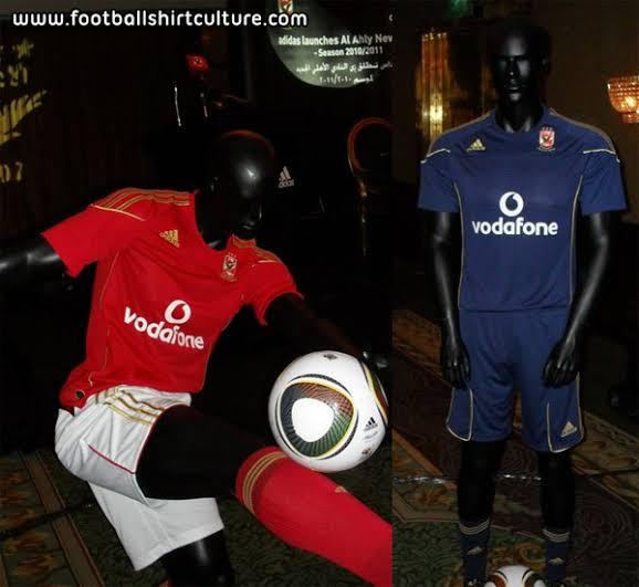 Al Ahly 2010 CAFCL kits