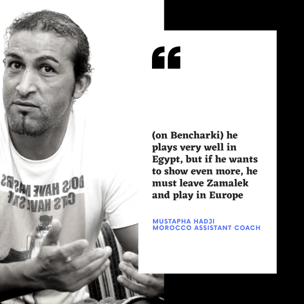 Mustapha Hadji on Bencharki