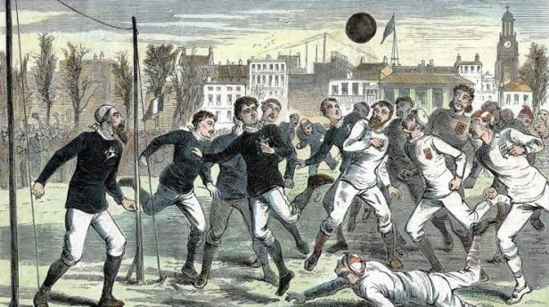 Football in 1800s