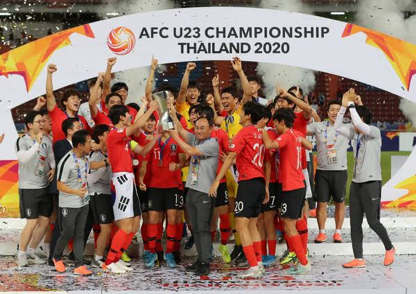 AFC U-23 2019 Champions South Korea
