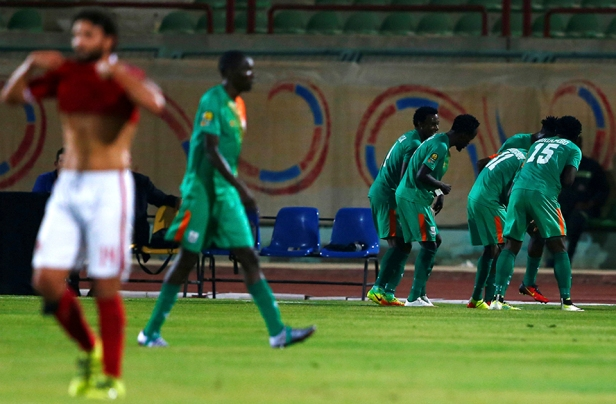 ZESCO Utd vs Al Ahly 2016