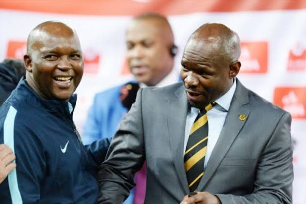 Pitso and Komphela
