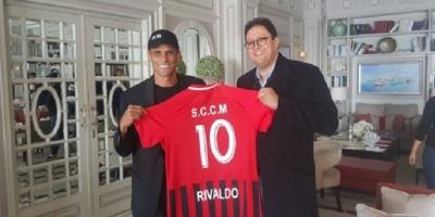 Rivaldo and Hicham Ait Menna