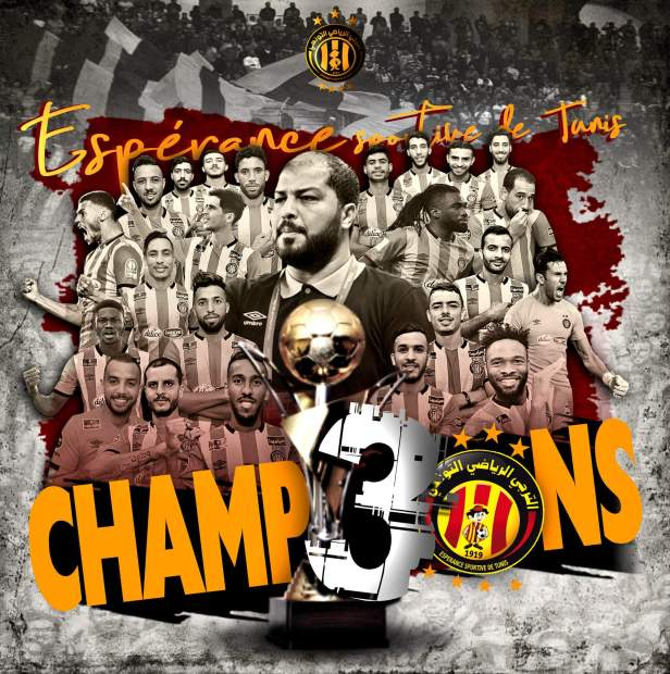 Esperance Tunis Ligue 1 2019/2020 winners