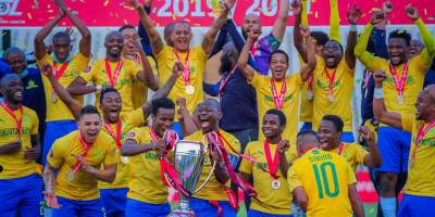 Sundowns win 2019/2020 PSL
