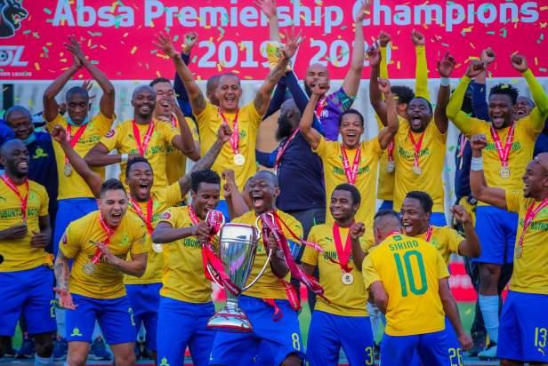 Sundowns win 2019/2020 PSL