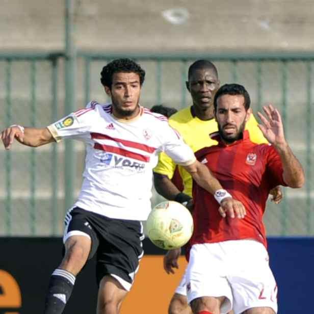 Al Ahly v Zamalek cafcl 2012