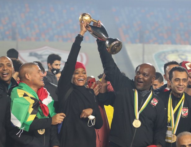 Pitso Mosimane Ahly CAFCL winner