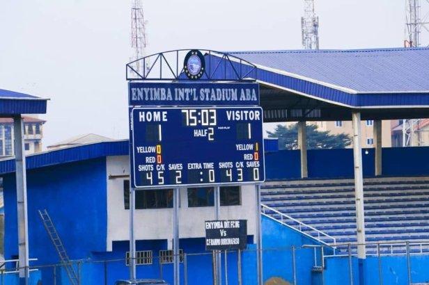 Enyimba Stadium new screen